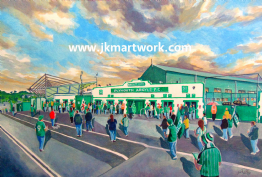 home park going to the match print